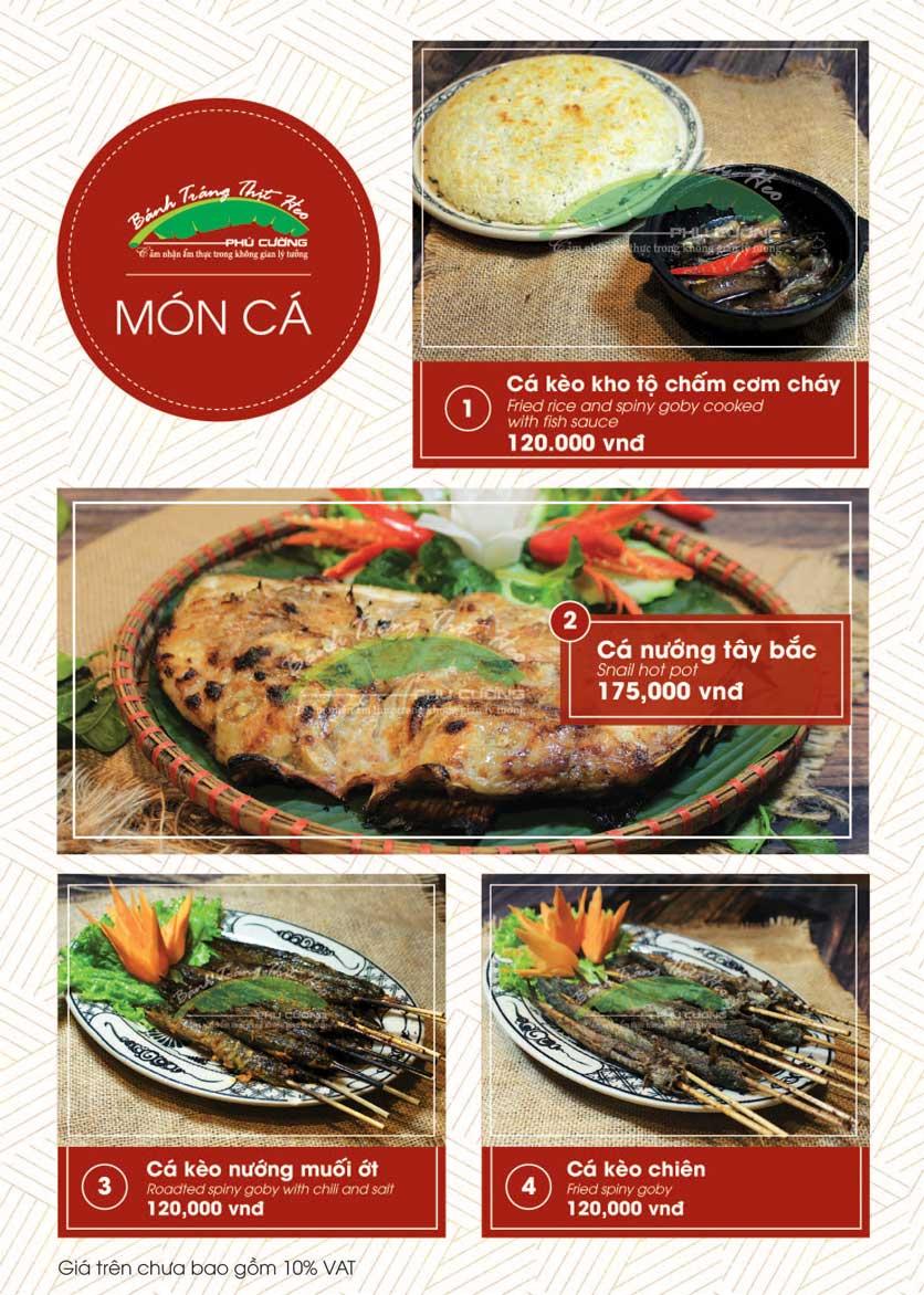 Menu Bánh Tráng Thịt Heo - Hà Đông  21