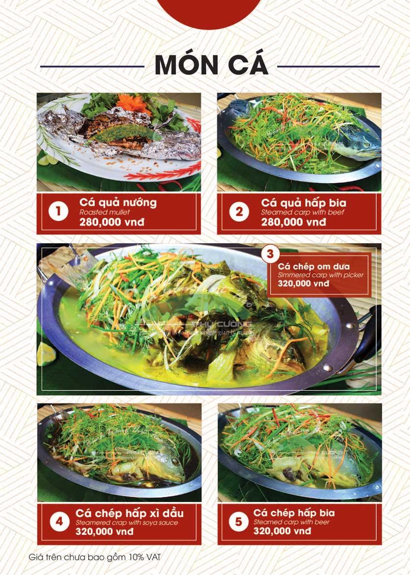 Menu Bánh Tráng Thịt Heo - Hà Đông  22