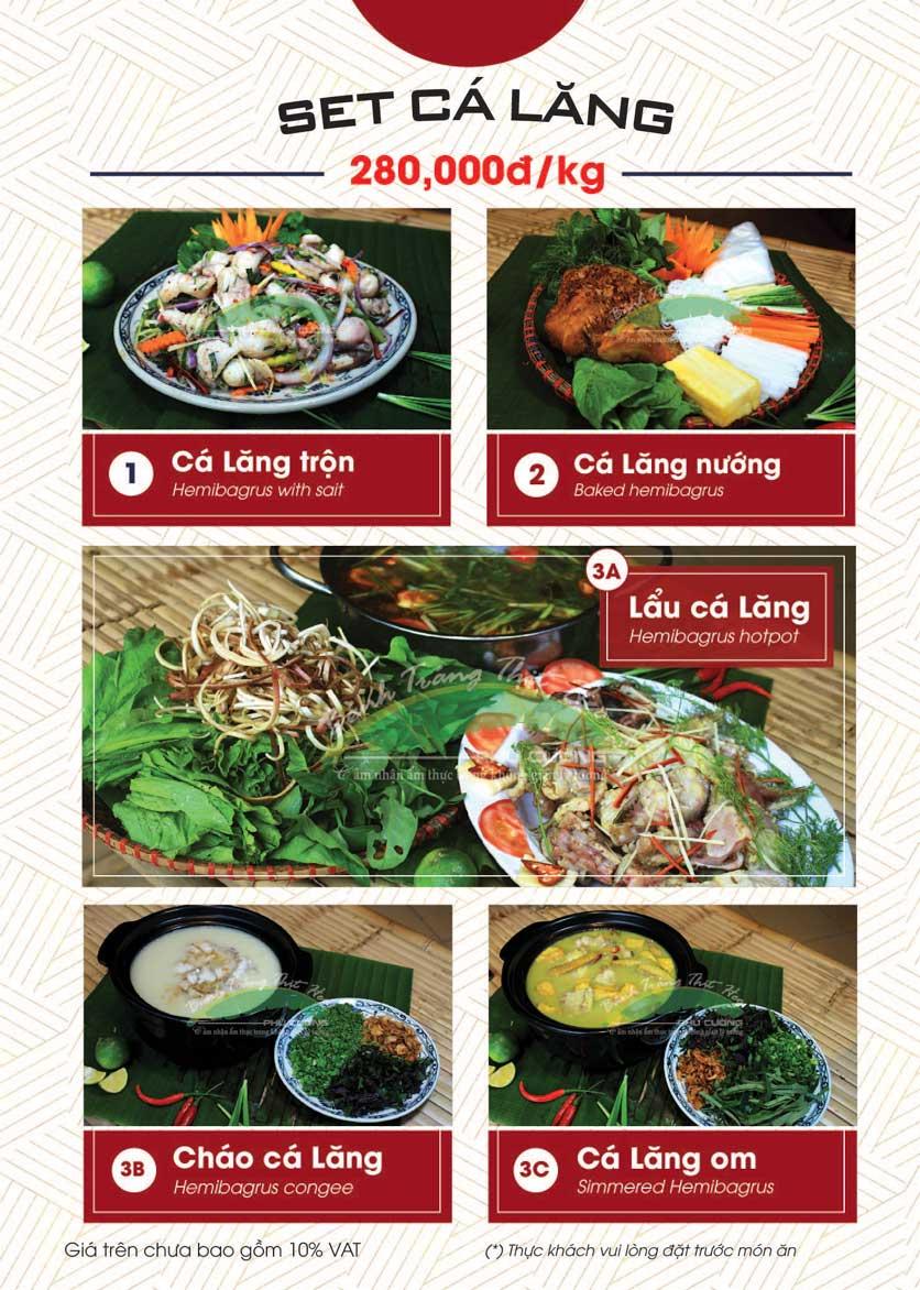 Menu Bánh Tráng Thịt Heo - Hà Đông  24