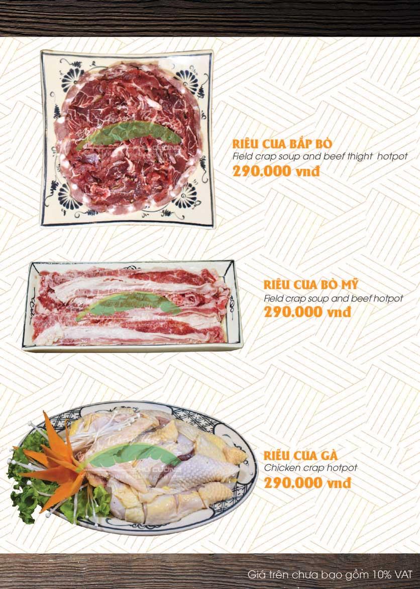 Menu Bánh Tráng Thịt Heo - Hà Đông  28