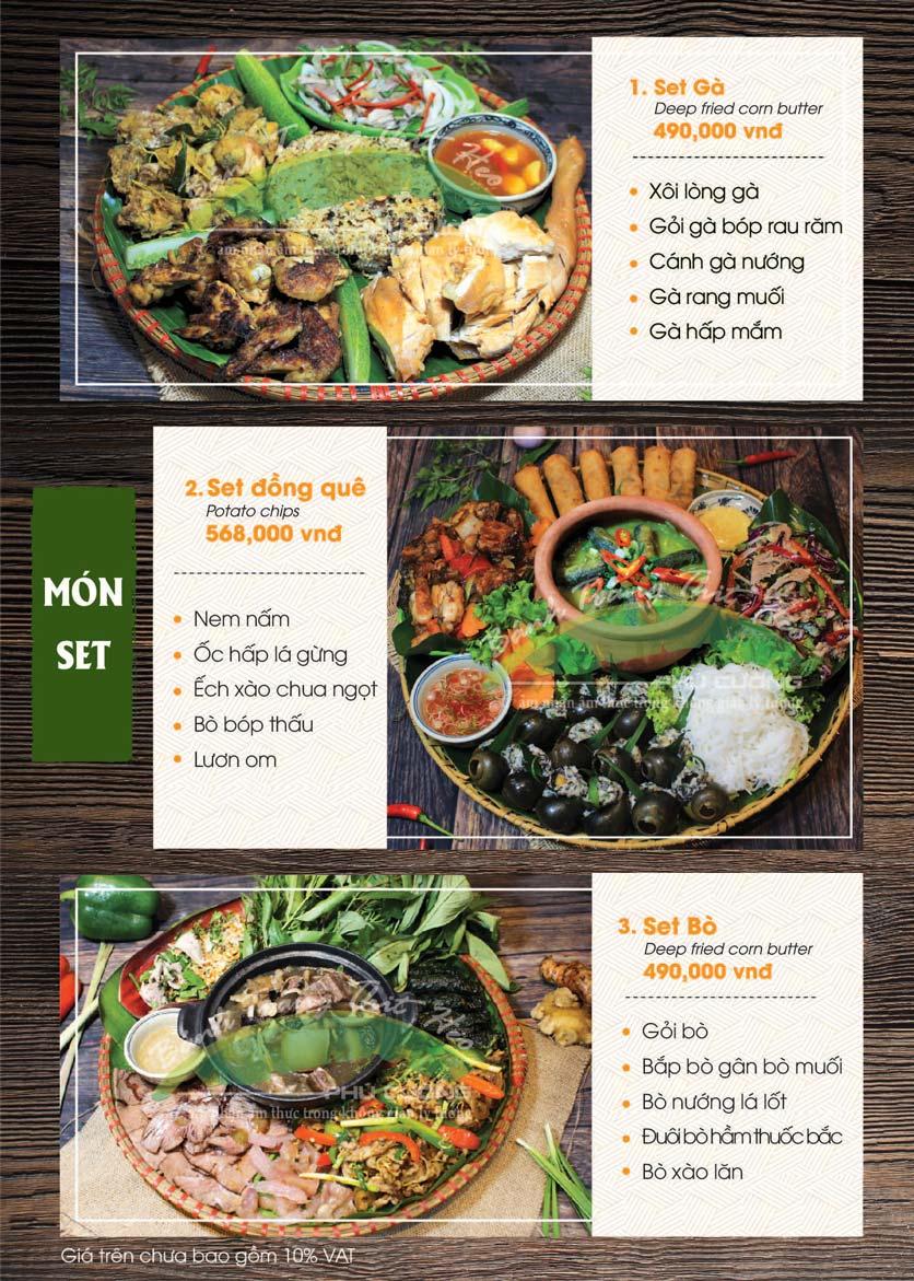 Menu Bánh Tráng Thịt Heo - Hà Đông  3