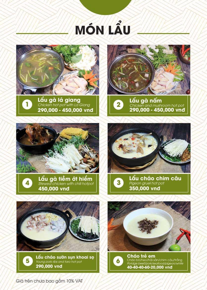 Menu Bánh Tráng Thịt Heo - Hà Đông  30