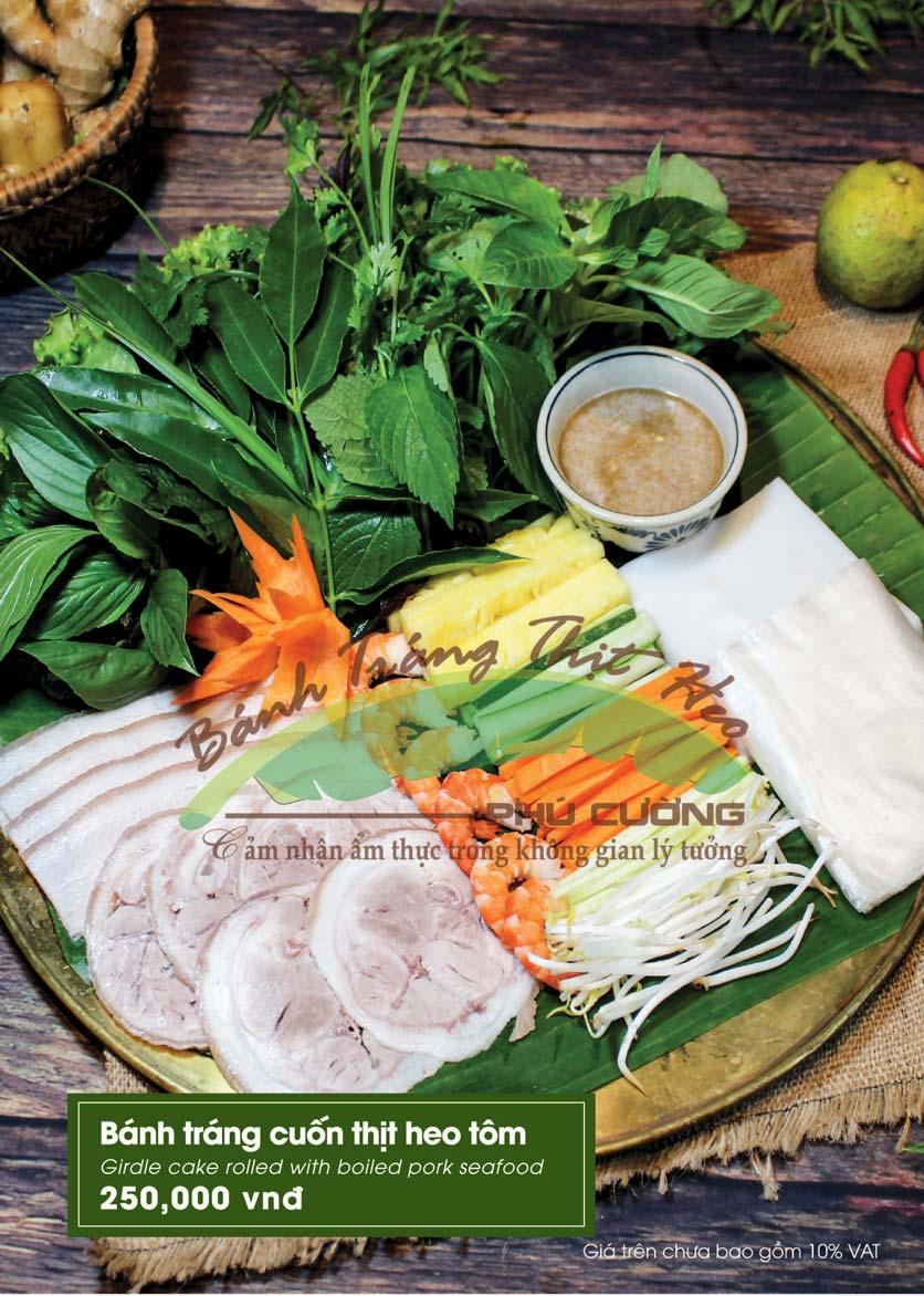 Menu Bánh Tráng Thịt Heo - Hà Đông  4