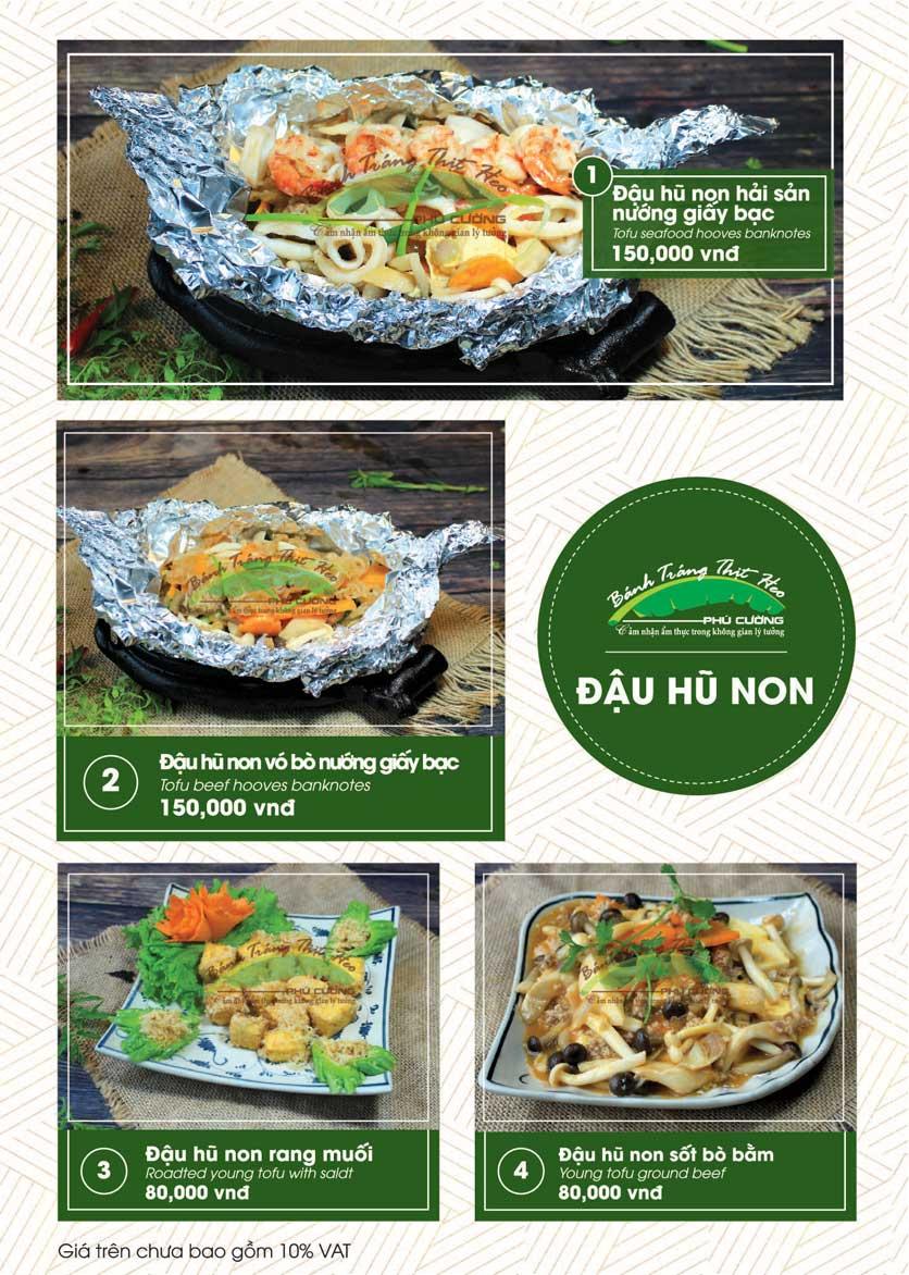 Menu Bánh Tráng Thịt Heo - Hà Đông  7