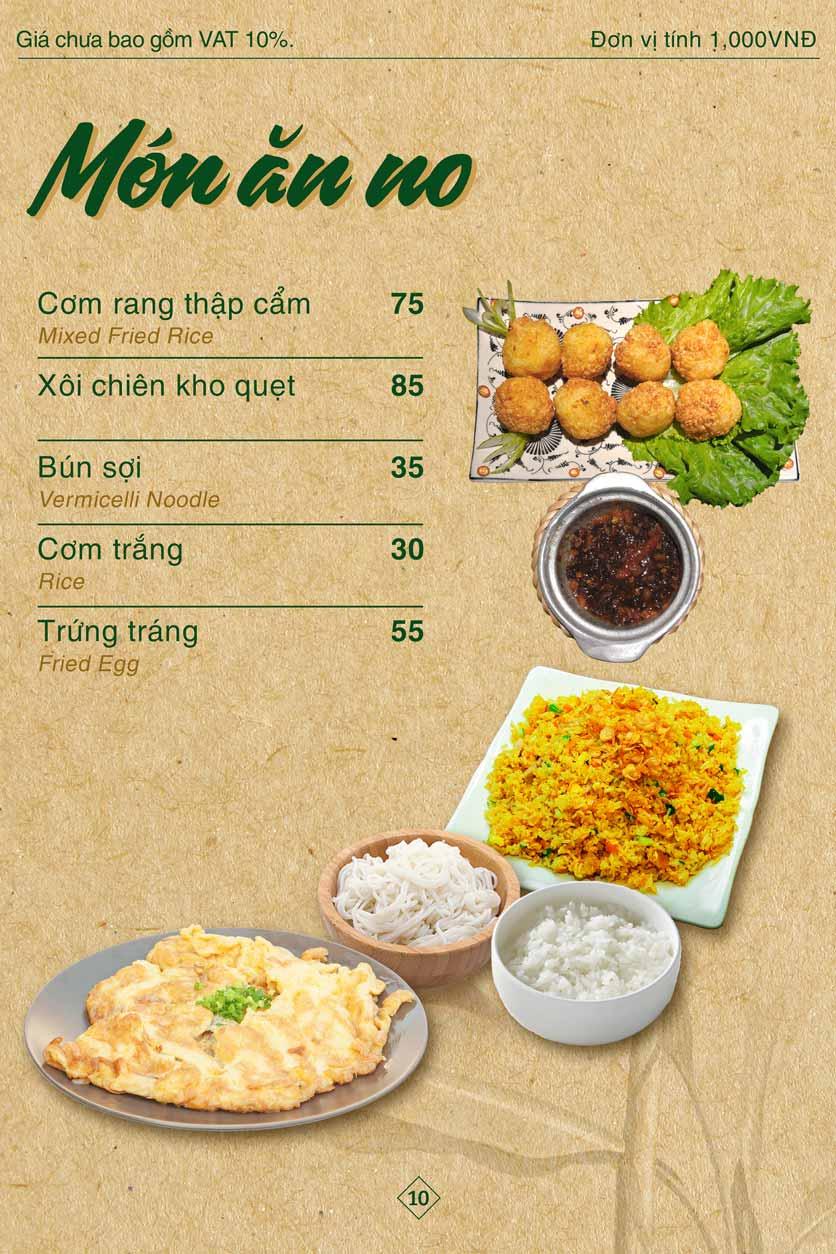 Menu Bánh Tráng Thịt Heo Giang Mỹ - Hoàng Đạo Thúy 10