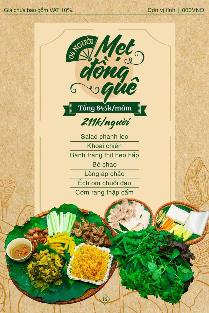 Menu Bánh Tráng Thịt Heo Giang Mỹ - Hoàng Đạo Thúy 16