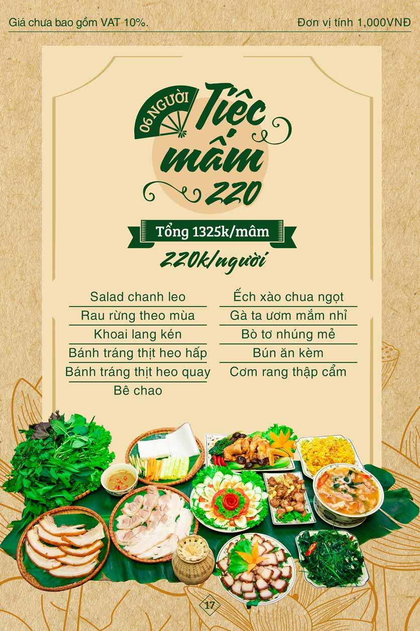 Menu Bánh Tráng Thịt Heo Giang Mỹ - Hoàng Đạo Thúy 17