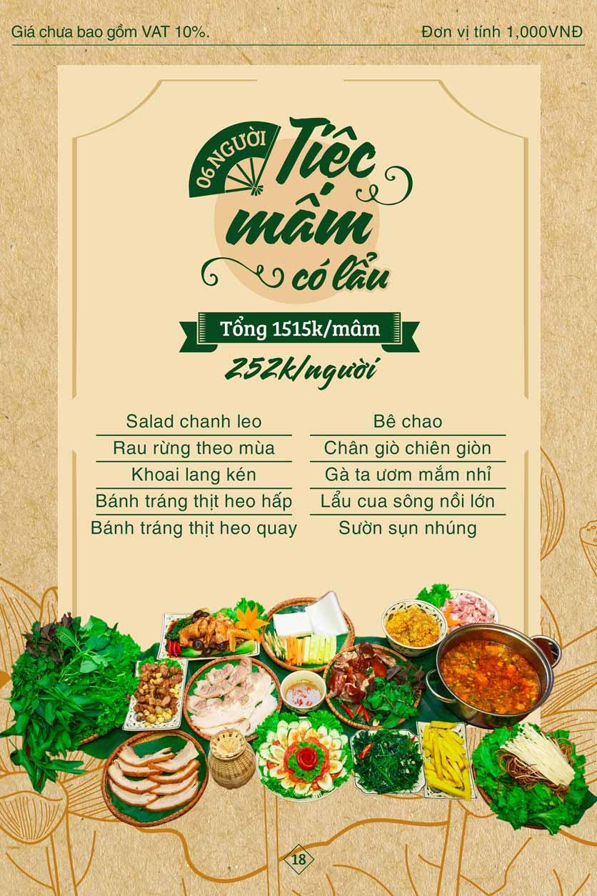 Menu Bánh Tráng Thịt Heo Giang Mỹ - Hoàng Đạo Thúy 18