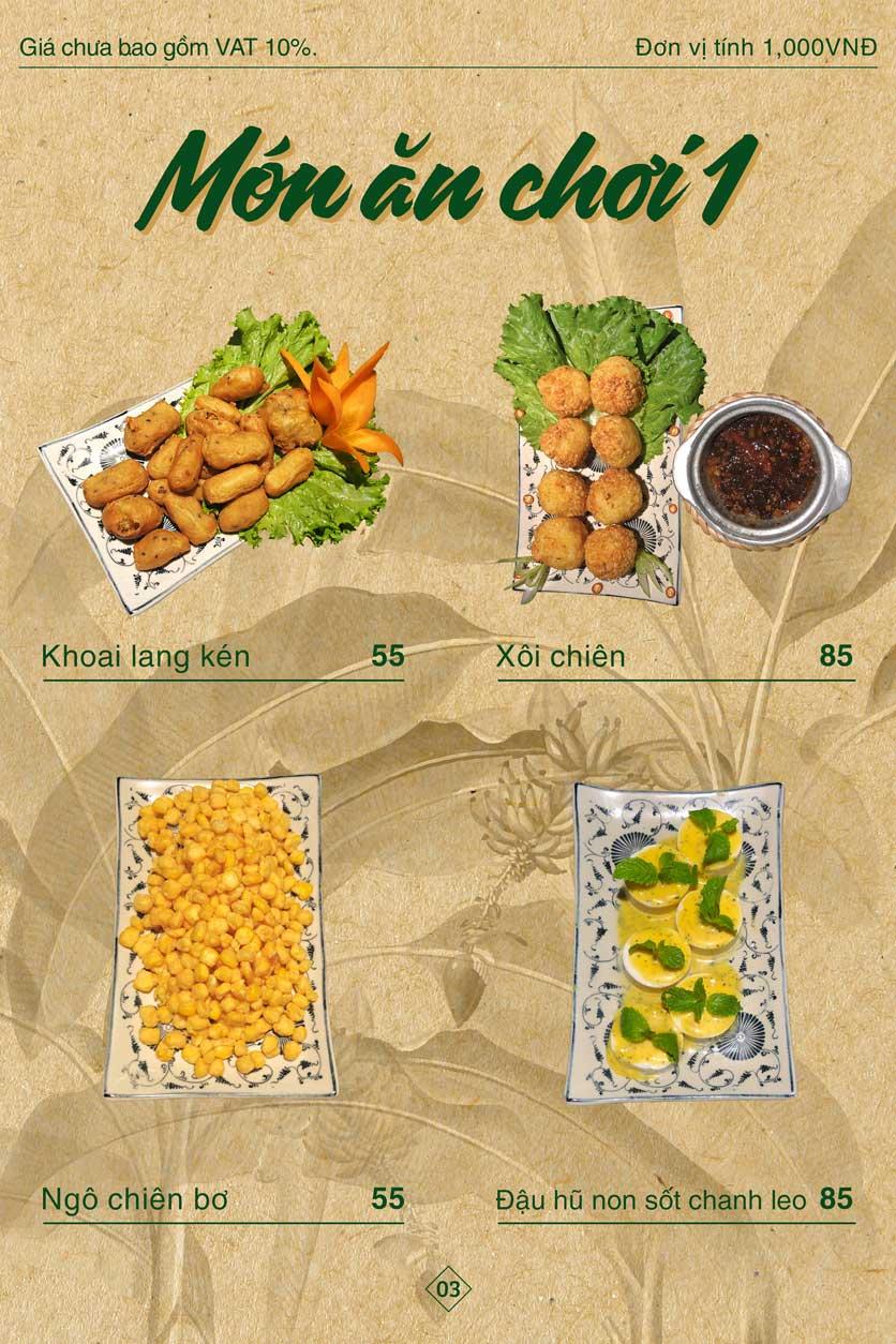 Menu Bánh Tráng Thịt Heo Giang Mỹ - Hoàng Đạo Thúy 3