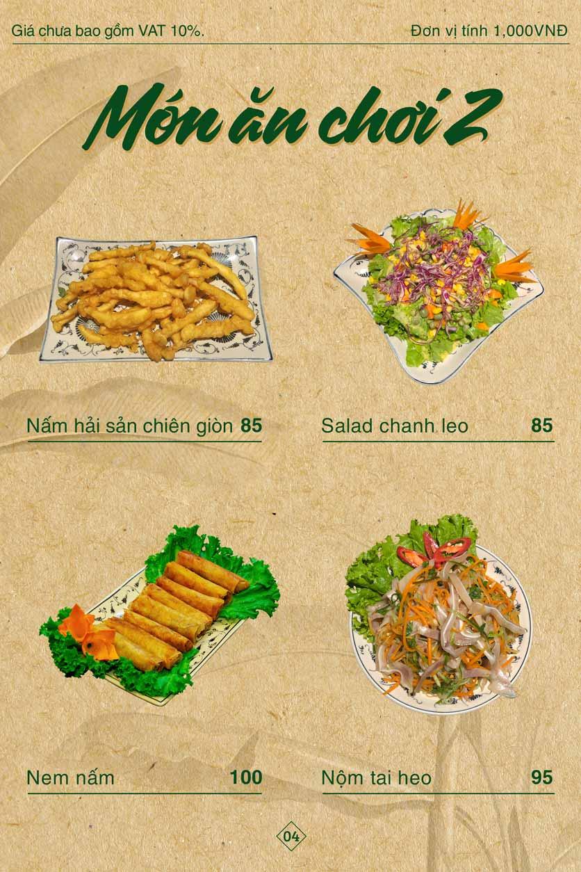 Menu Bánh Tráng Thịt Heo Giang Mỹ - Hoàng Đạo Thúy 4