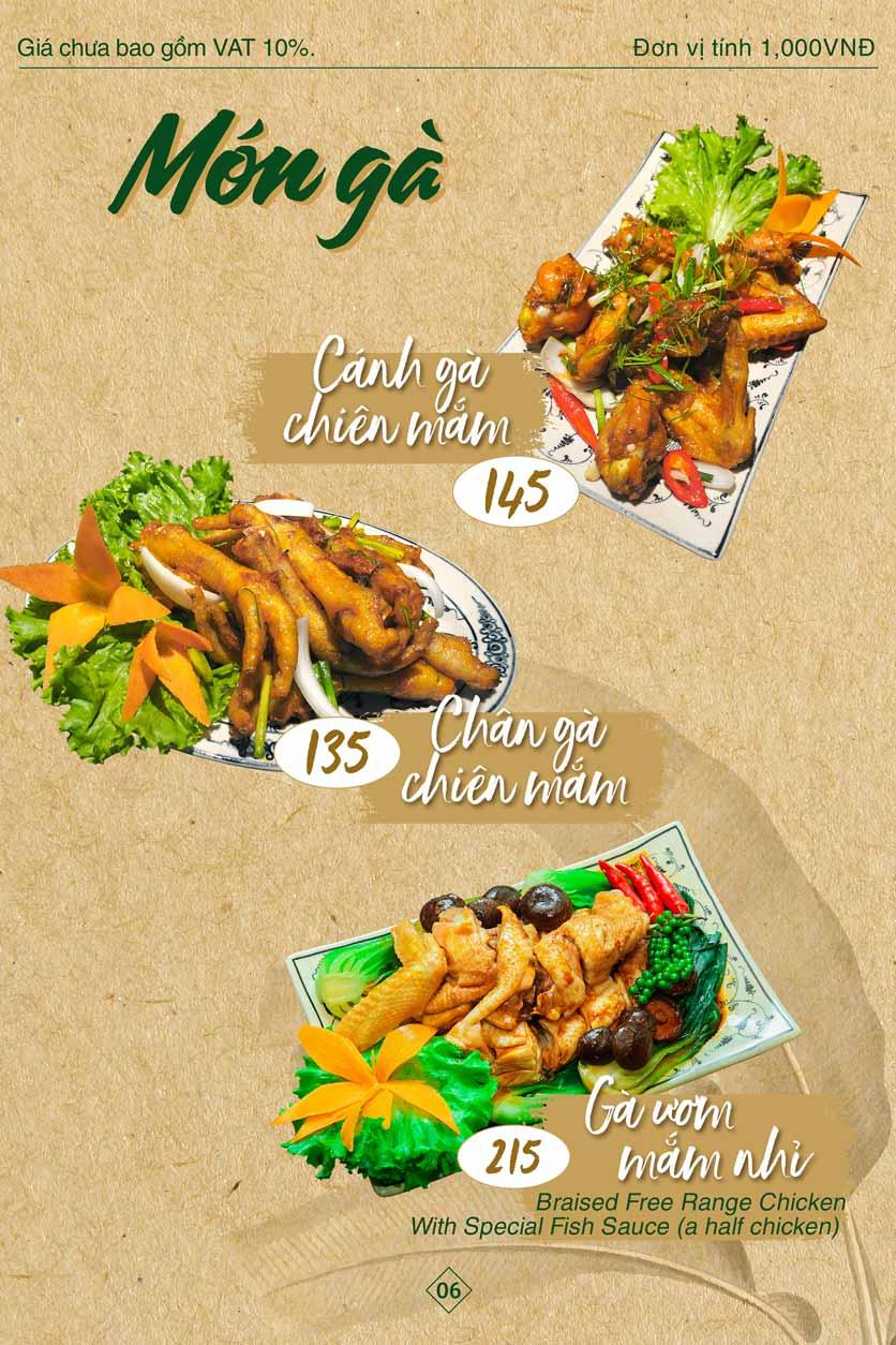 Menu Bánh Tráng Thịt Heo Giang Mỹ - Hoàng Đạo Thúy 6