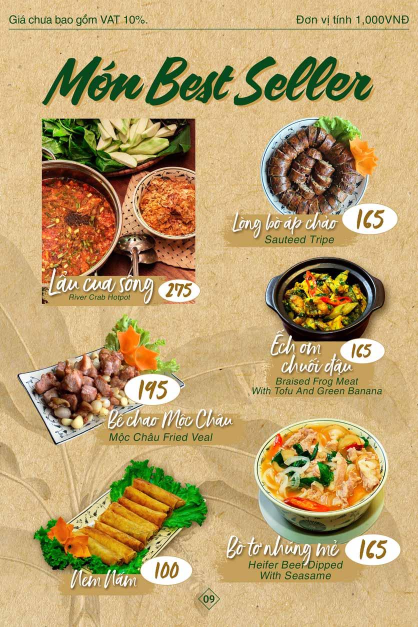 Menu Bánh Tráng Thịt Heo Giang Mỹ - Hoàng Đạo Thúy 9