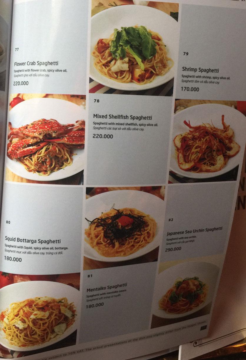 Menu Basta Hiro - Pizza & Pasta - Vincom Mega Mall Thảo Điền   14