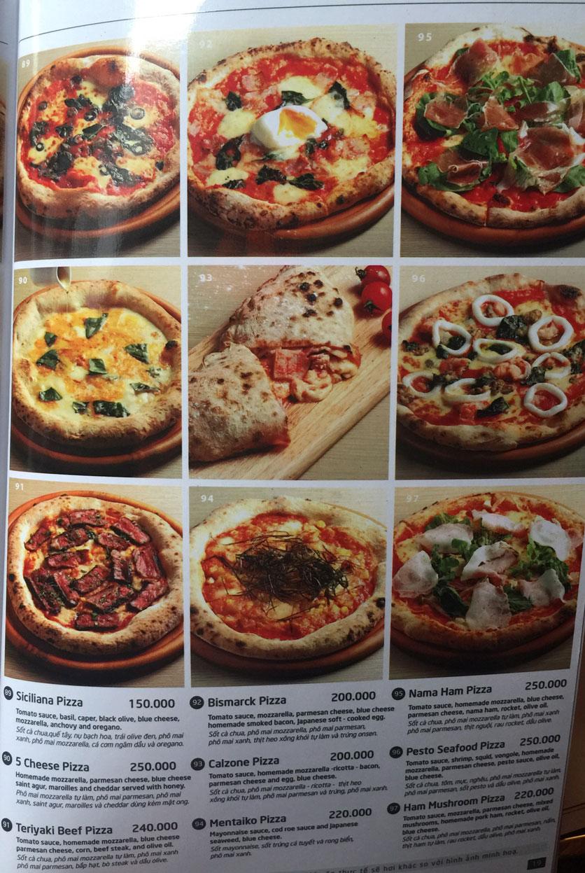Menu Basta Hiro - Pizza & Pasta - Vincom Mega Mall Thảo Điền   15