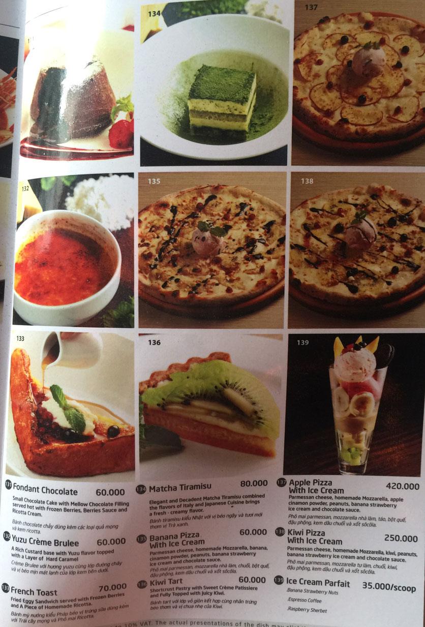 Menu Basta Hiro - Pizza & Pasta - Vincom Mega Mall Thảo Điền   22