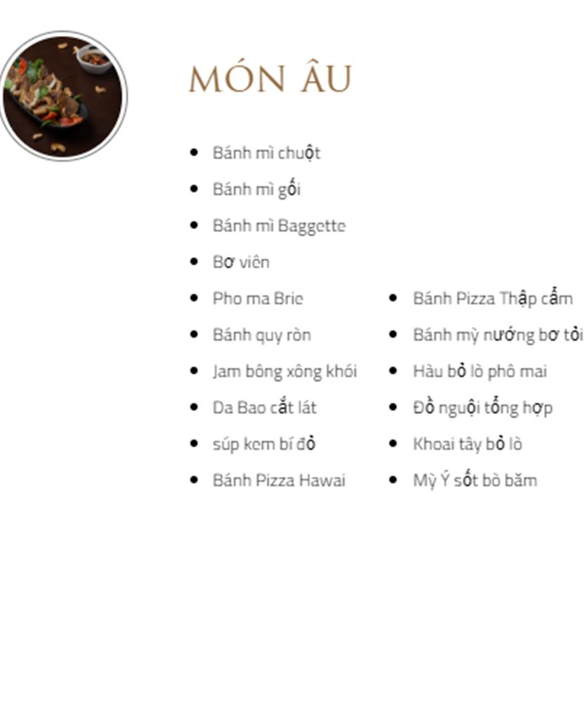 Menu Bay Seafood Buffet - Hồ Tây 5