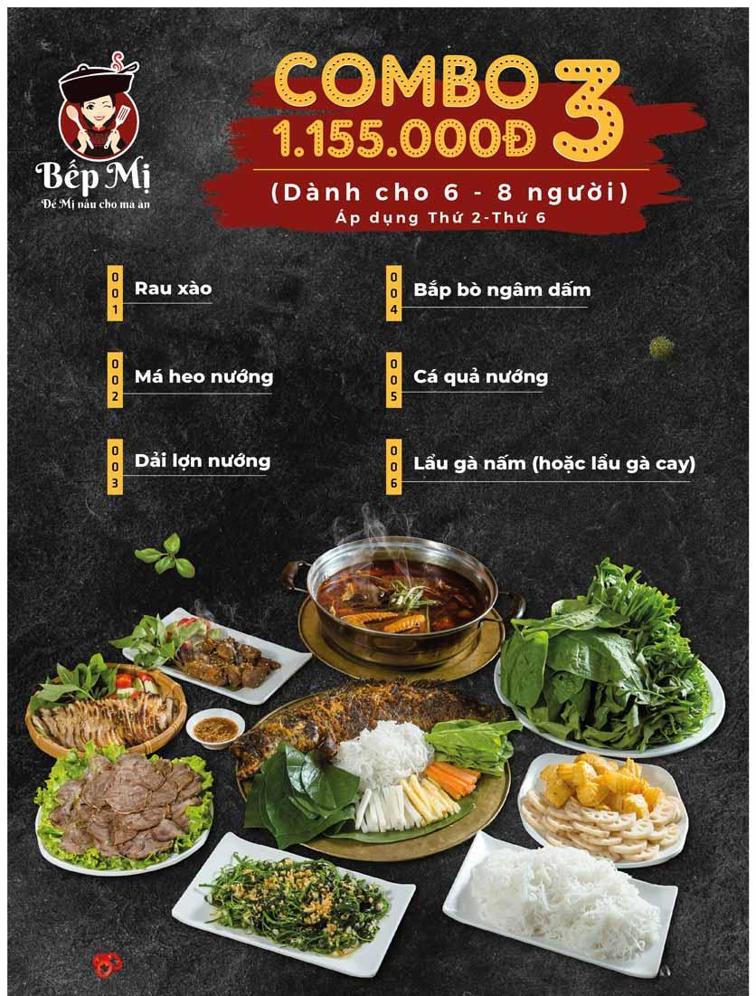 Menu Bếp Mị - Nguyễn Lương Bằng 17