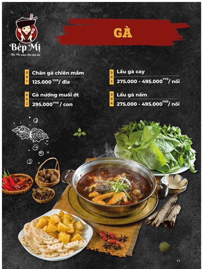 Menu Bếp Mị - Nguyễn Lương Bằng 6