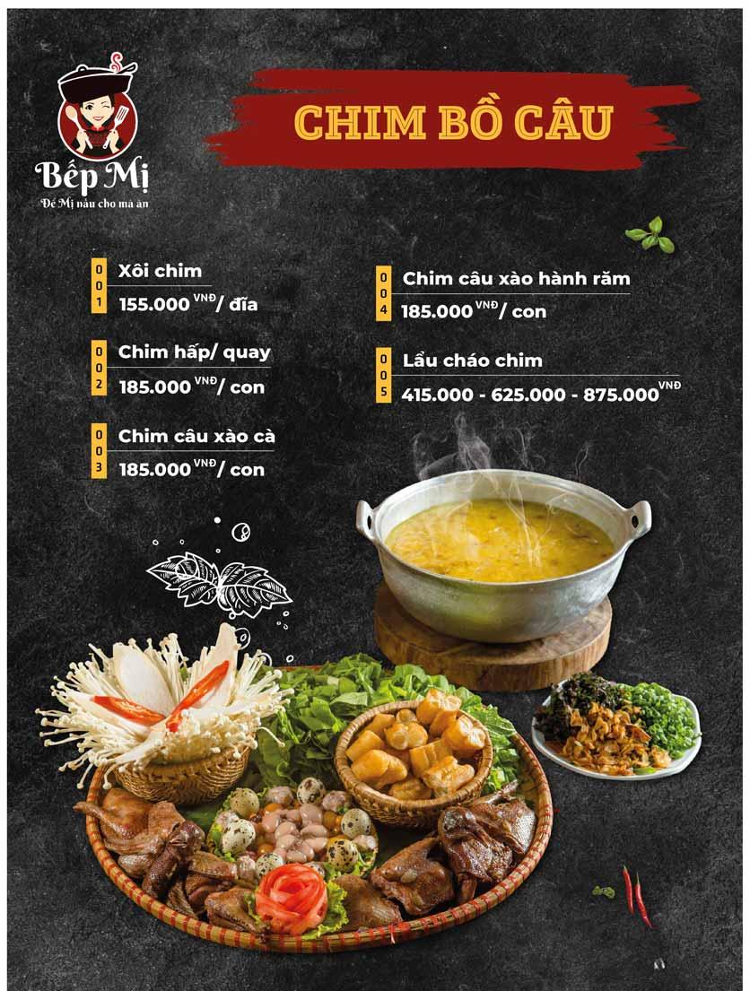 Menu Bếp Mị - Nguyễn Lương Bằng 8