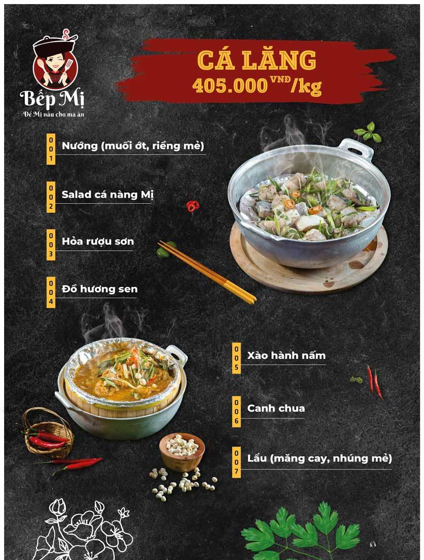 Menu Bếp Mị - Nguyễn Lương Bằng 9