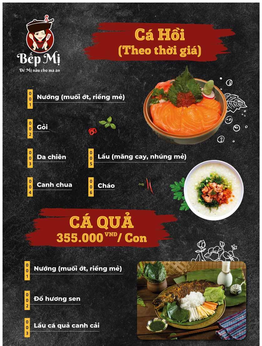 Menu Bếp Mị - Nguyễn Lương Bằng 11