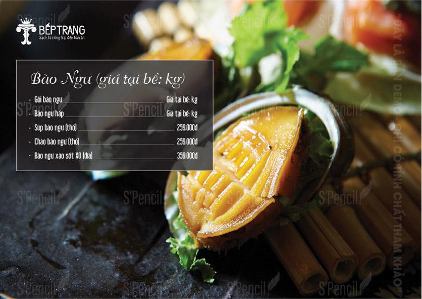 Menu Bếp Trang Restaurant  - Vũ Trọng Khánh 2