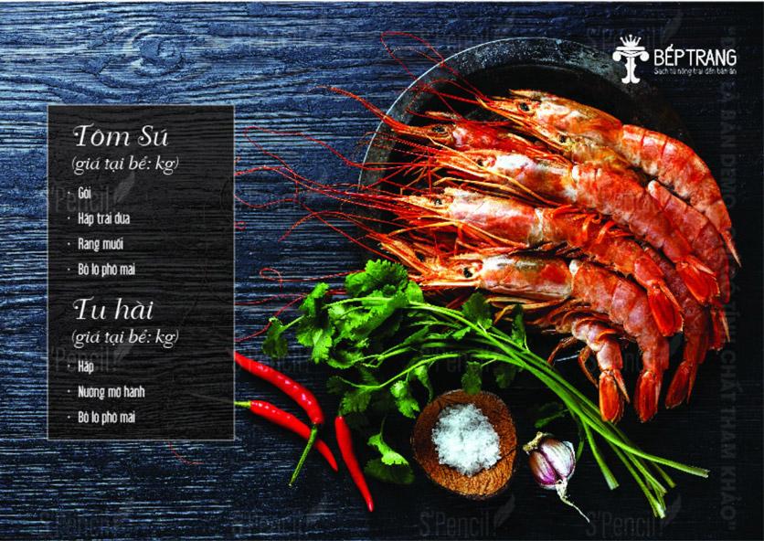 Menu Bếp Trang Restaurant  - Vũ Trọng Khánh 7