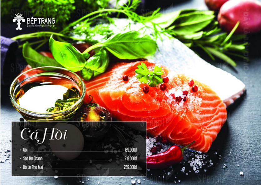 Menu Bếp Trang Restaurant  - Vũ Trọng Khánh 9