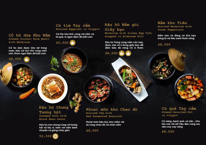 Menu Chay Bếp Xanh An Duyên - Nguyễn Tri Phương 10