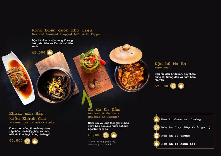Menu Chay Bếp Xanh An Duyên - Nguyễn Tri Phương 11