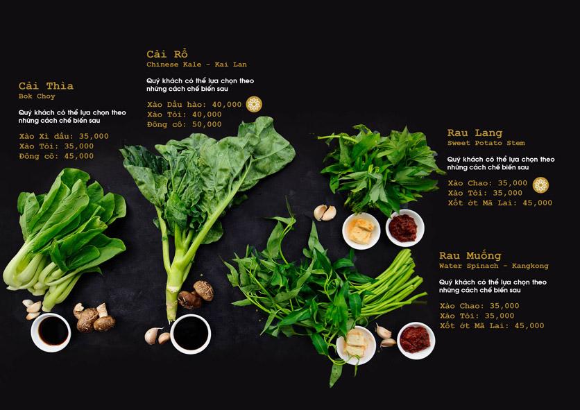 Menu Chay Bếp Xanh An Duyên - Nguyễn Tri Phương 14