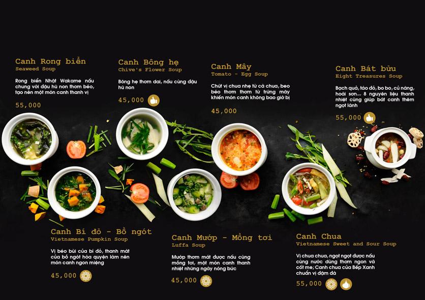 Menu Chay Bếp Xanh An Duyên - Nguyễn Tri Phương 21