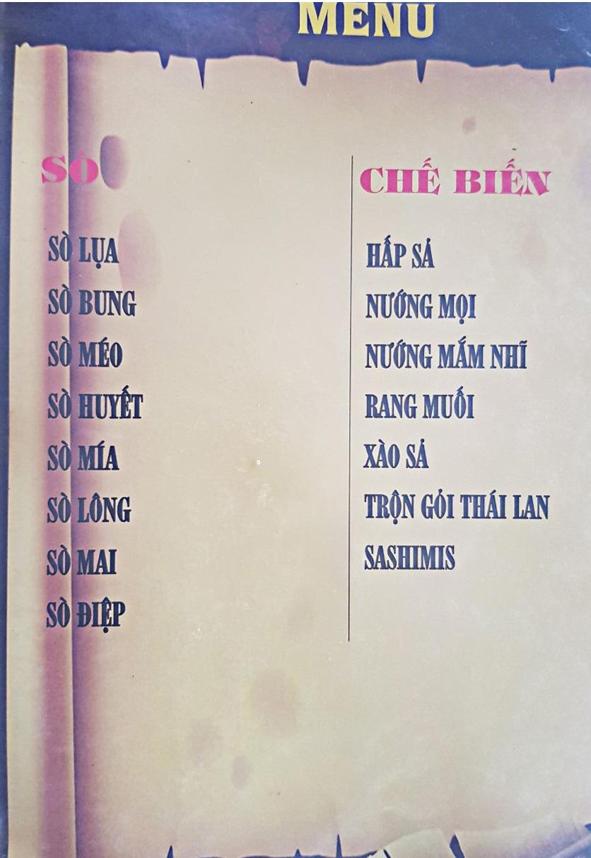 Menu Bia Tô Lão Đại 2 - Võ Văn Kiệt 4
