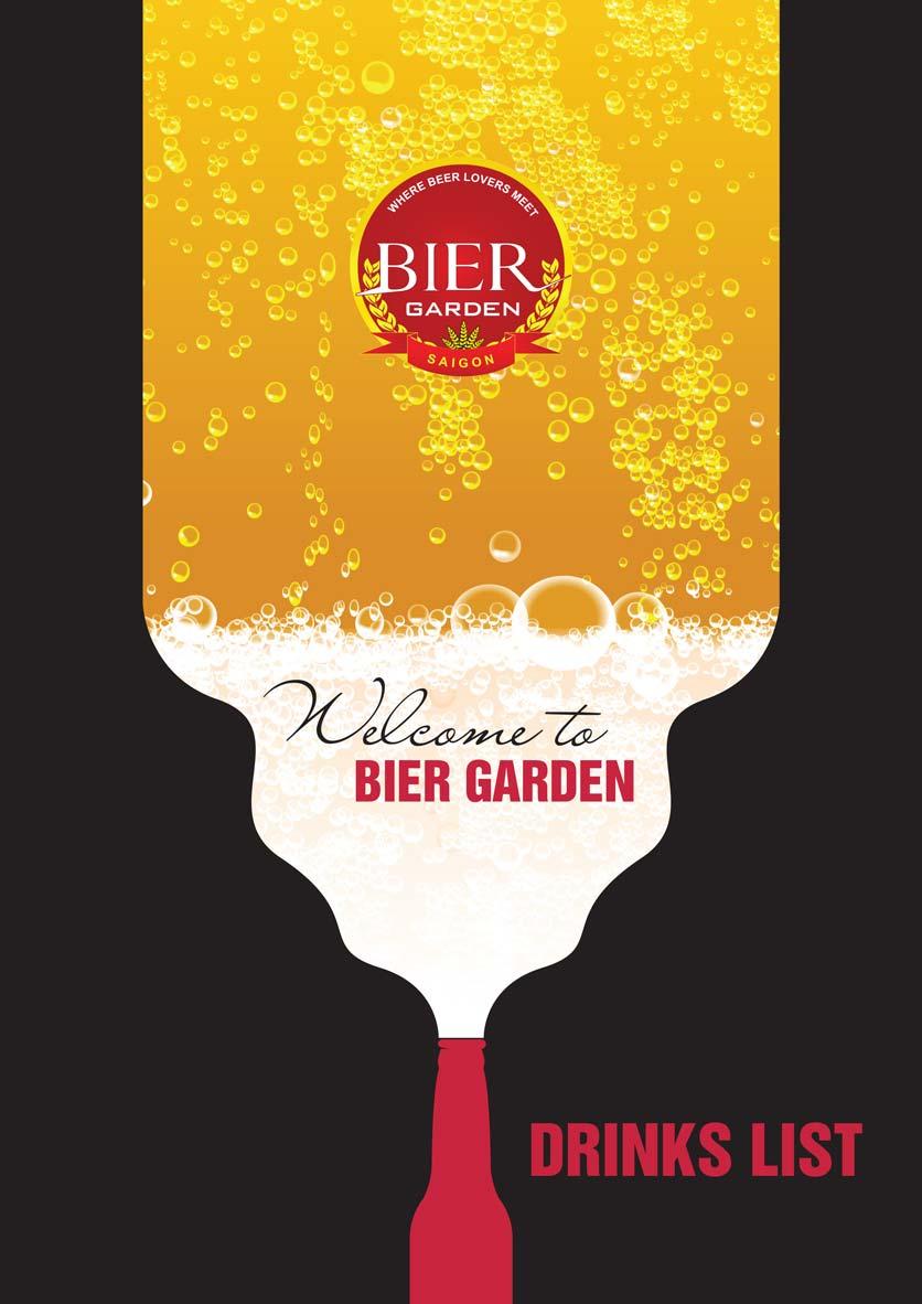 Menu Bier Garden  - Đồng Khởi 21