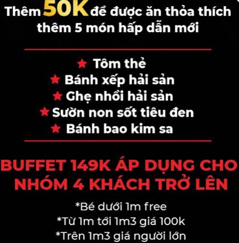 Menu Big Pig BBQ & Beer - Trường Sơn 2