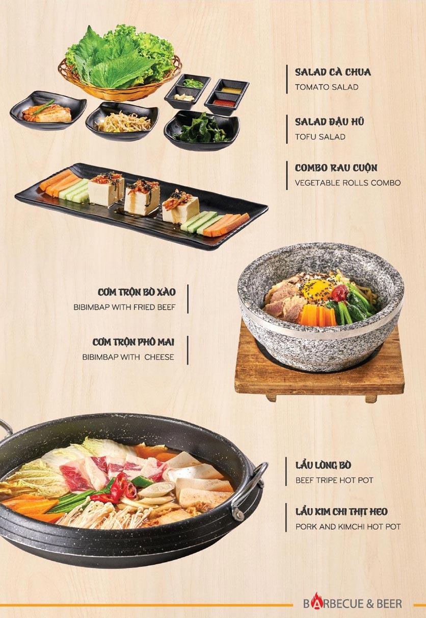 Menu Blue - Nướng & Lẩu Hàn Quốc - Hoàng Văn Thụ 4