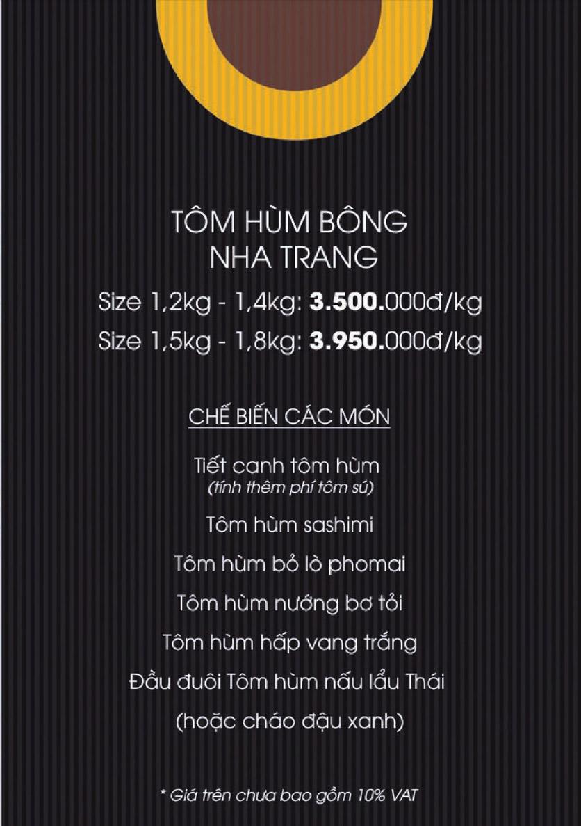 Menu Boong Restaurant – Nguyên Hồng 15