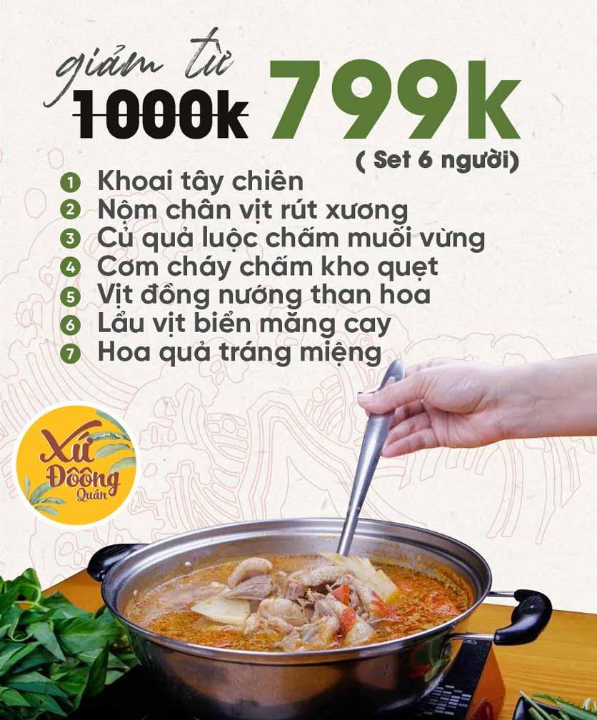 Menu Xứ Đôông - Nguyễn Huy Tưởng 1
