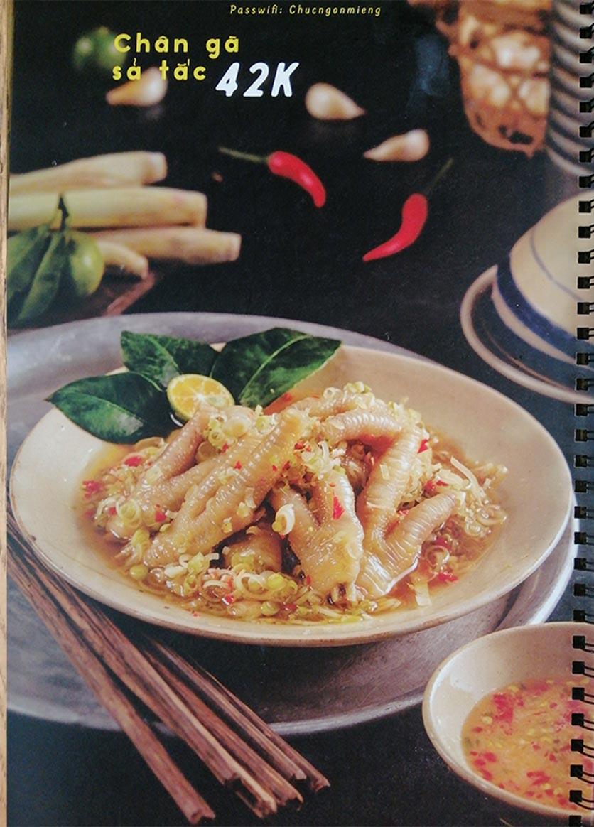 Menu Bún Đậu Cô Tư - Quang Trung 4