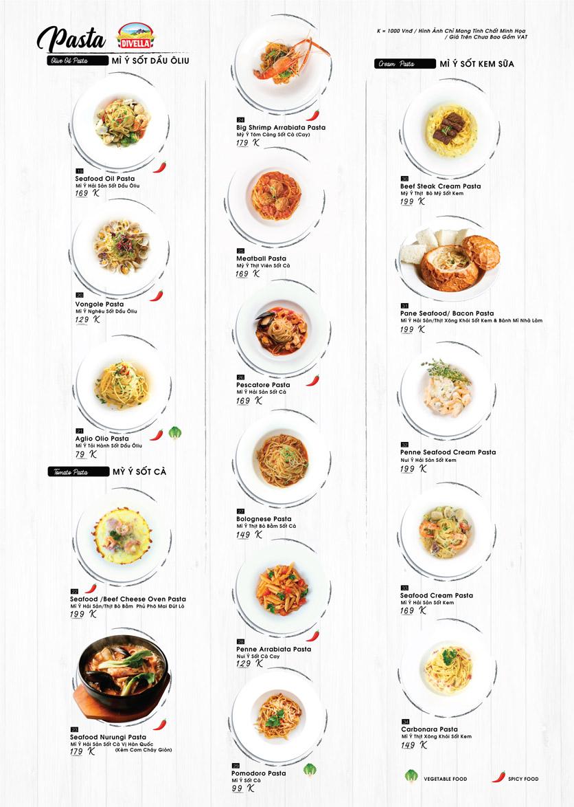 Menu Buzza Pizza – Nguyễn Trung Trực 2
