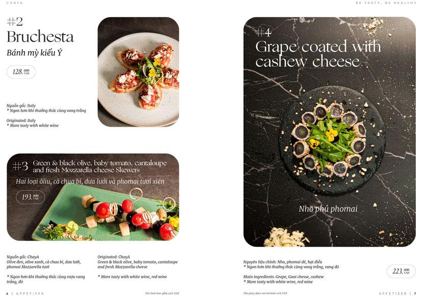 Menu ChayA Pizza - Thi Sách 2