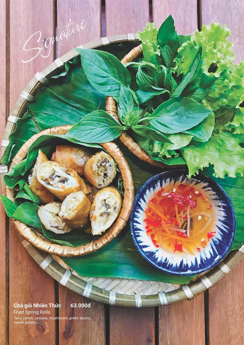 Menu Phương Mai Chay Quán - Võ Thị Sáu 10
