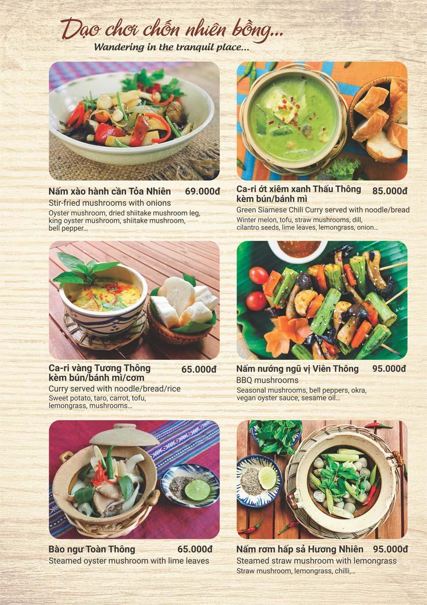 Menu Phương Mai Chay Quán - Võ Thị Sáu 4