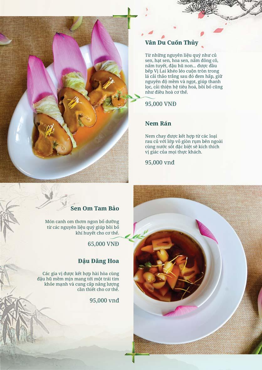 Menu Chay Vị Lai - Lý Thường Kiệt 24