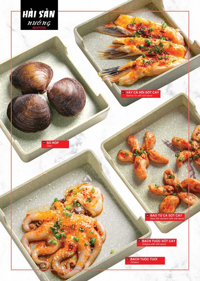 Menu Cheep Eats – Buffet lẩu nướng hải sản - Nguyên Hồng 11