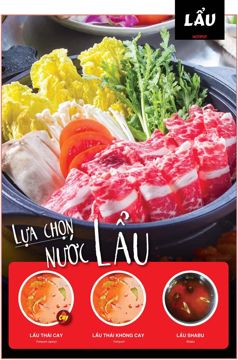 Menu Cheep Eats – Buffet lẩu nướng hải sản - Nguyên Hồng 12