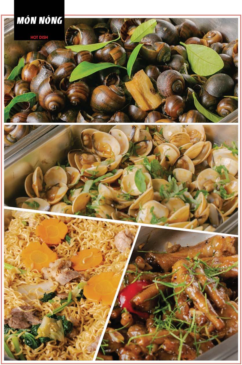 Menu Cheep Eats – Buffet lẩu nướng hải sản - Nguyên Hồng 14