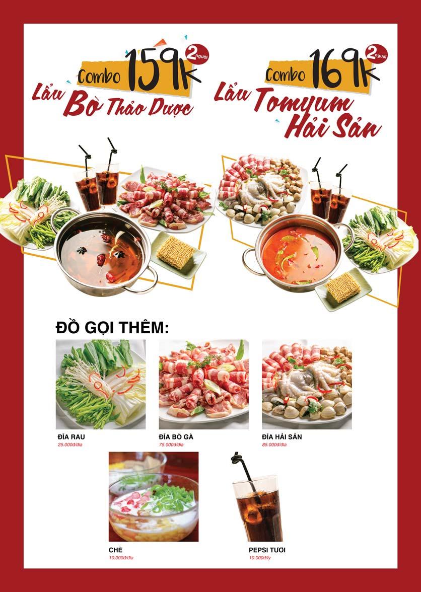 Menu Cheep Eats – Buffet lẩu nướng hải sản - Nguyên Hồng 18