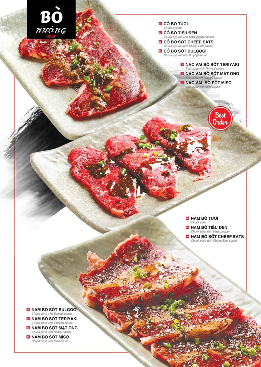 Menu Cheep Eats – Buffet lẩu nướng hải sản - Nguyên Hồng 4