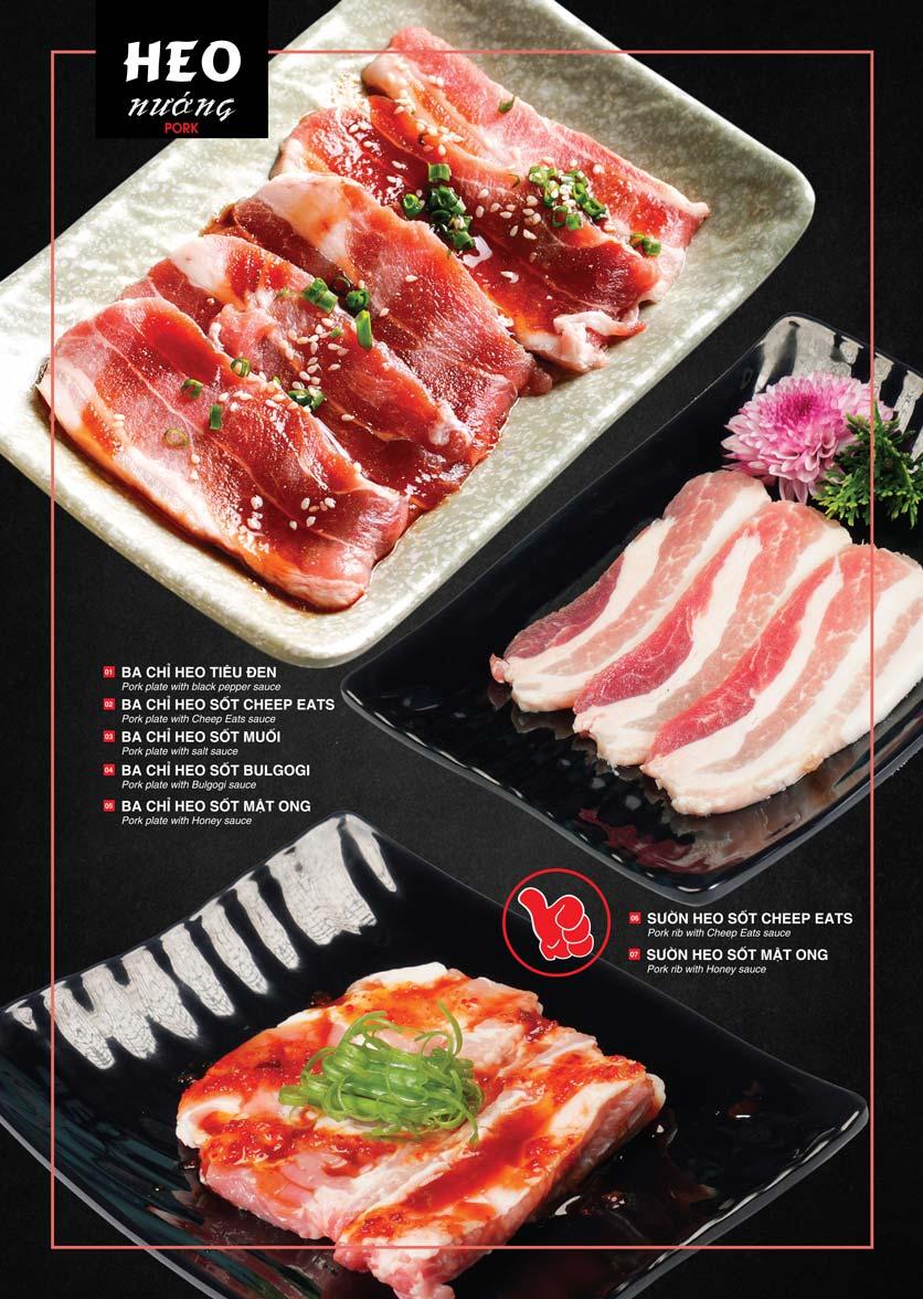 Menu Cheep Eats – Buffet lẩu nướng hải sản - Nguyên Hồng 6